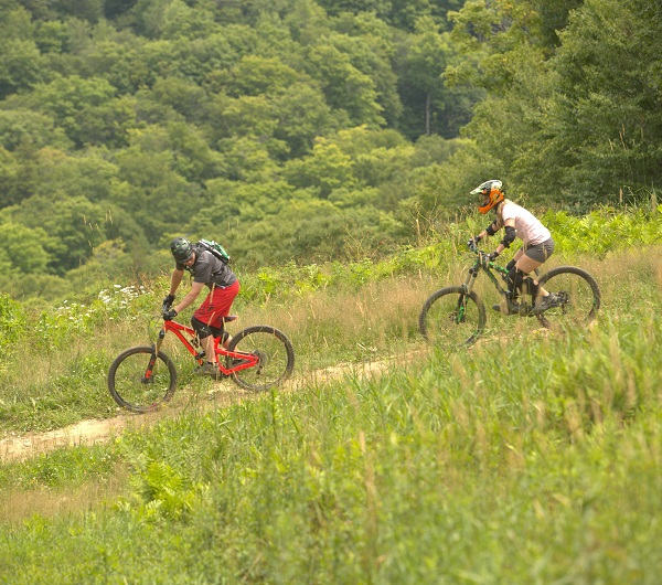mountain biking killington