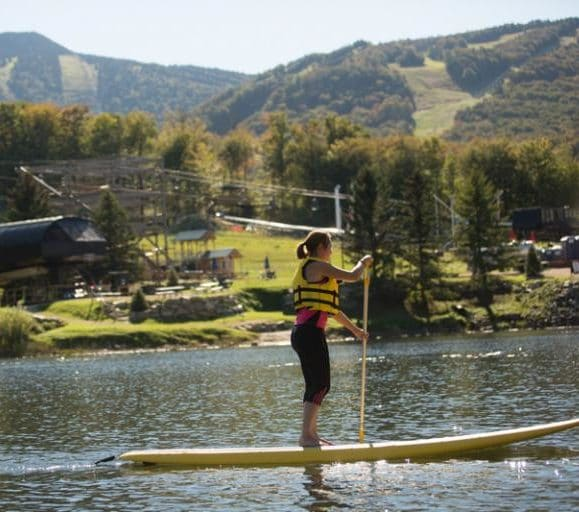 paddle boarding killington pico